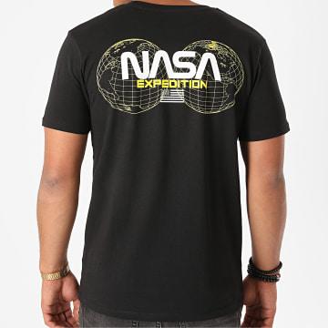 NASA - Tee Shirt Expedition Back Noir Jaune