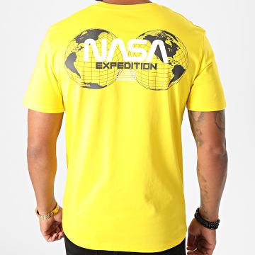 NASA - Tee Shirt Expedition Back Jaune