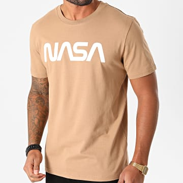 NASA - Tee Shirt Worm Logo Camel