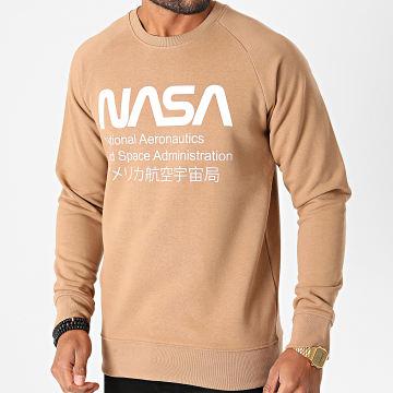 NASA - Sweat Crewneck Admin Camel