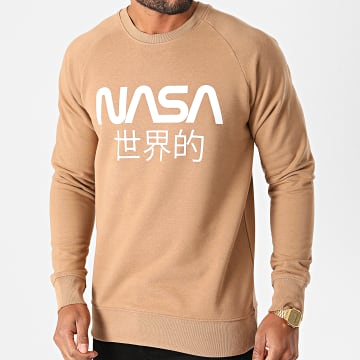 NASA - Sweat Crewneck Japan Camel