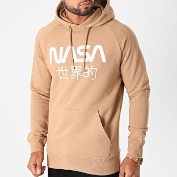 NASA - Sweat Capuche Japan Camel