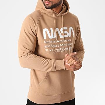 NASA - Sweat Capuche Admin Camel