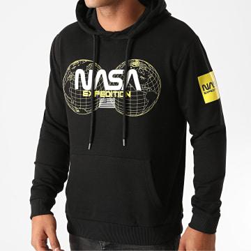 NASA - Sweat Capuche Expedition Noir