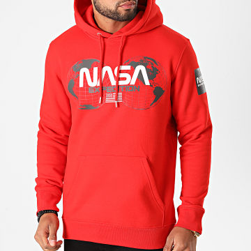NASA - Sweat Capuche Expedition Rouge
