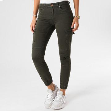 Only - Jogger Pant Skinny Femme Missouri Vert Kaki
