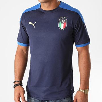 Puma - Tee Shirt FIGC Training 757219 Bleu Marine