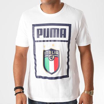Puma - Tee Shirt FIGC DNA 757504 Blanc