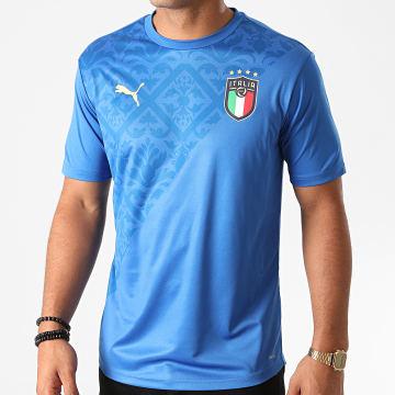 Puma - Tee Shirt FIGC Stadium Home 757953 Bleu Azur