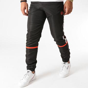 Sergio Tacchini - Pantalon Jogging A Bandes Baron 38867 Noir