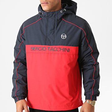 Sergio Tacchini - Veste Outdoor Dabou 38344 Bleu Marine Rouge