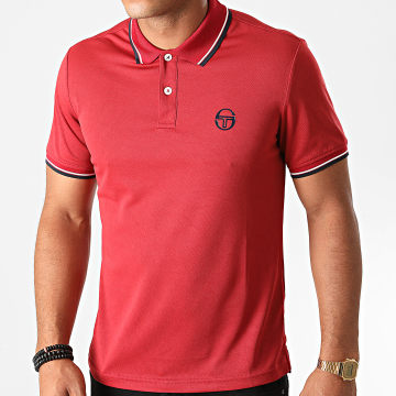 Sergio Tacchini - Polo Manches Courtes Reed 020 38710 Rouge Brique