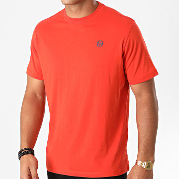 Sergio Tacchini - Tee Shirt Run 020 38713 Orange Foncé