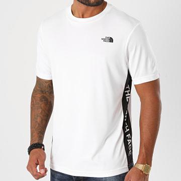 The North Face - Tee Shirt Hybrid M9ZL Blanc