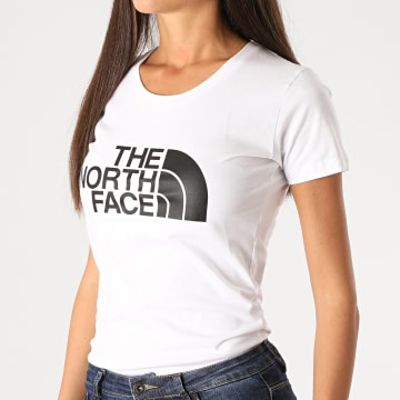 The North Face - Tee Shirt Femme Easy 56VY Blanc
