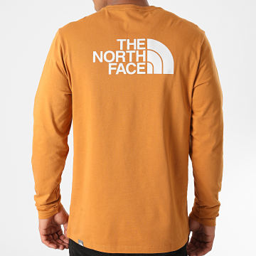The North Face - Tee Shirt Manches Longues Easy TX15 Moutarde Foncé