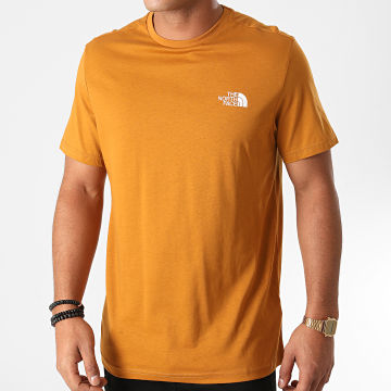 The North Face - Tee Shirt Simple Dome TX5V Moutarde Foncé