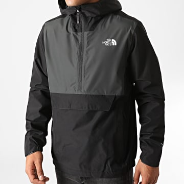 The North Face - Coupe-Vent Waterproof FNRK XZMJ Noir Gris