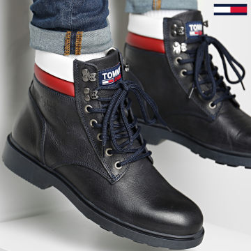 Tommy Jeans - Boots Classic Lace Up 0540 Bleu Marine