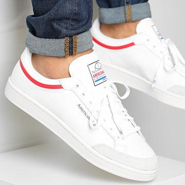 adidas - Baskets Americana Low EF6385 Footwear White Glory Red Cloud White