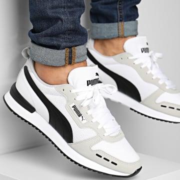 Puma - Baskets R78 373117 White Gray Violet Black
