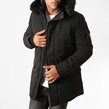 Sixth June - Parka Fourrure M43005SOW Noir