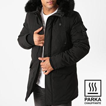 Sixth June - Parka Fourrure Chauffante M43045SOW Noir
