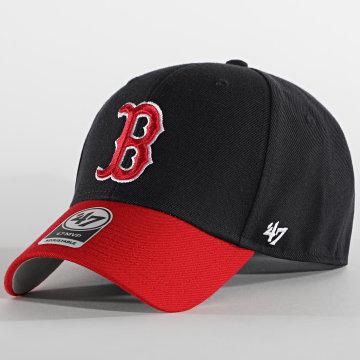 '47 Brand - Casquette MVP Adjustable Boston Red Sox Bleu Marine