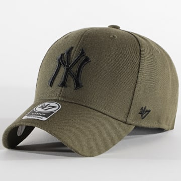 '47 Brand - Casquette MVP Adjustable New York Yankees Vert Kaki Noir