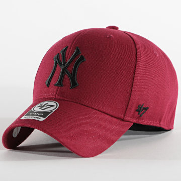 '47 Brand - Casquette MVP Adjustable New York Yankees Bordeaux