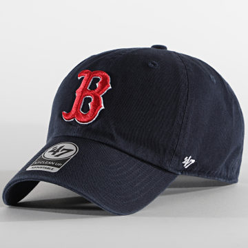 '47 Brand - Casquette MVP Adjustable Boston Red Sox Bleu Marine