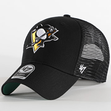 '47 Brand - Casquette Trucker MVP Adjustable Pittsburgh Penguins Noir
