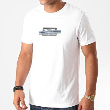Diesel - Tee Shirt Diegos A00359-0CATM Blanc