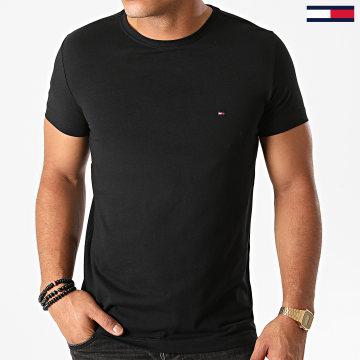 Tommy Hilfiger - Tee Shirt Core Stretch 6625 Noir
