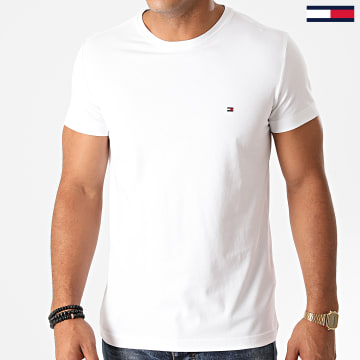 Tommy Hilfiger - Tee Shirt Core Stretch 6625 Blanc