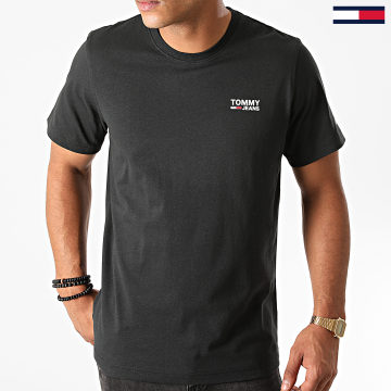 Tommy Jeans - Tee Shirt Corp Logo 9588 Noir