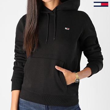 Tommy Jeans - Sweat Capuche Femme Regular Fleece 9228 Noir