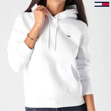 Tommy Jeans - Sweat Capuche Femme Regular Fleece 9228 Blanc