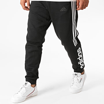 Adidas Performance - Pantalon Jogging A Bandes Essentials Colorblock GD5473 Noir