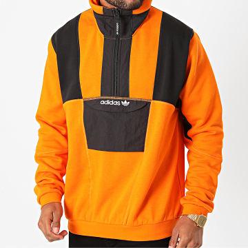 Adidas Originals - Sweat Col Zippé Adventure Field GD5574 Orange