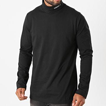 Adidas Originals - Tee Shirt Manches Longues A Col Roulé Adventure Base Layer GD5598 Noir