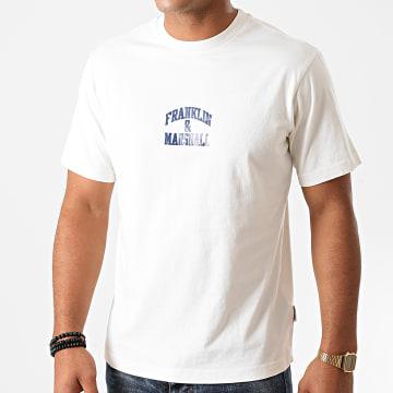 Franklin And Marshall - Tee Shirt JM3009-1000P01 Blanc
