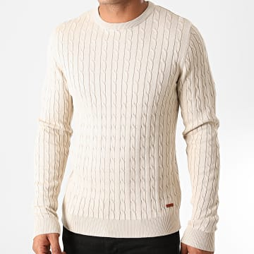 Jack And Jones - Pull Richard Beige