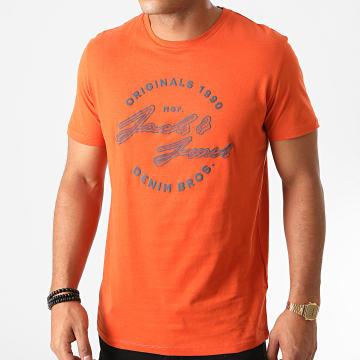 Jack And Jones - Tee Shirt Reuben Orange