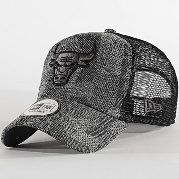 New Era - Casquette Trucker Engineered Fit 12490274 Chicago Bulls Gris Chiné