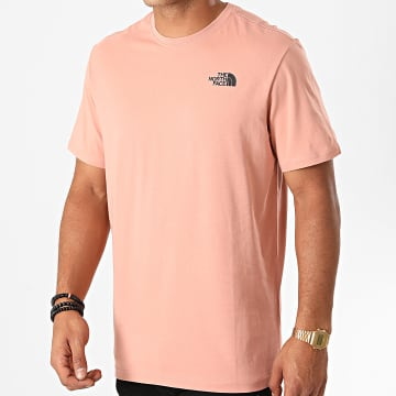 The North Face - Tee Shirt Red Box TX2T Rose