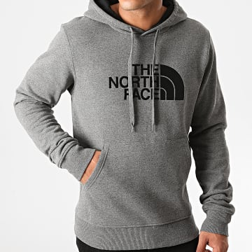 The North Face - Sweat Capuche Drew Peak JYLX Gris Anthracite Chiné