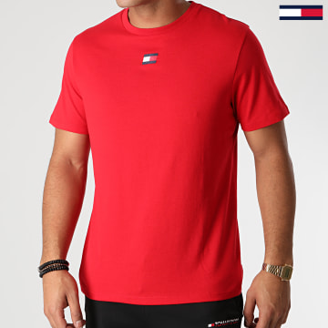 Tommy Sport - Tee Shirt Flag 0601 Rouge