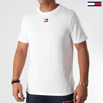 Tommy Sport - Tee Shirt Flag 0601 Blanc