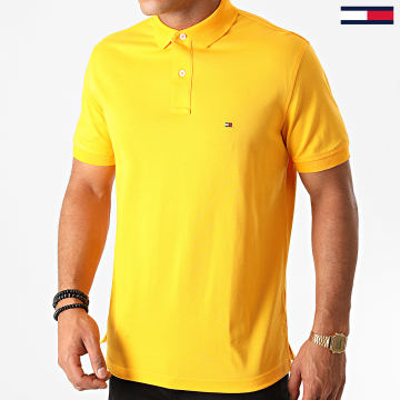 Tommy Hilfiger - Polo Manches Courtes 0765 Jaune